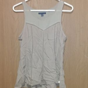 American eagle tan tank top